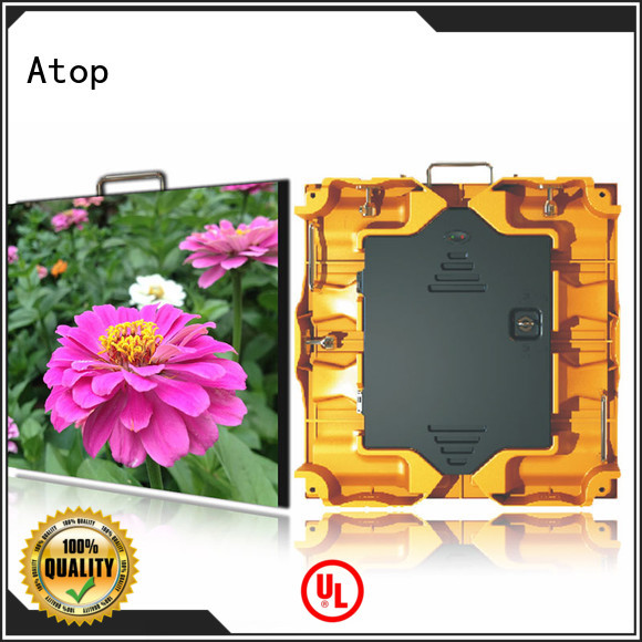 Atop led led rental screen with high-quality for LED screen