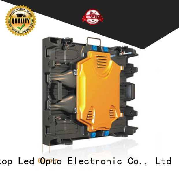 Atop anti-interference full color led display screen easy maintenance for company advertising