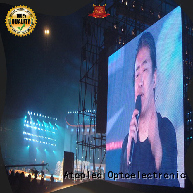 high-strength outdoor led display screen universality with high precision for both outdoor and indoor