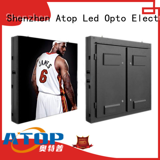 P4 Outdoor fixed installation led display screen