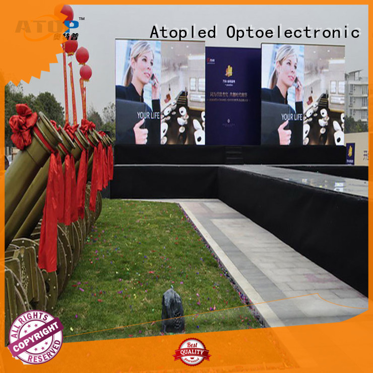 Atop wall full hd led screen in strict accordance with relevant national standards for LED screen