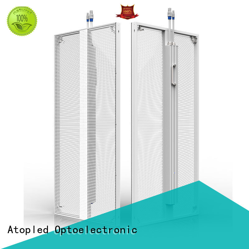 Atop smd transparent led screen easy maintenance for stages