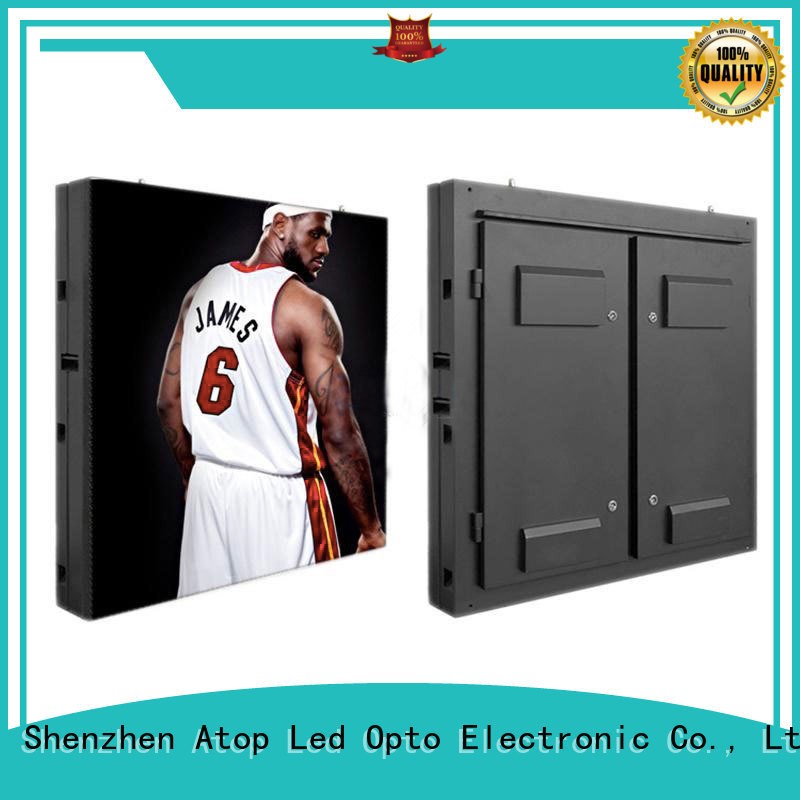 affordable full color led display on sale for display Atop
