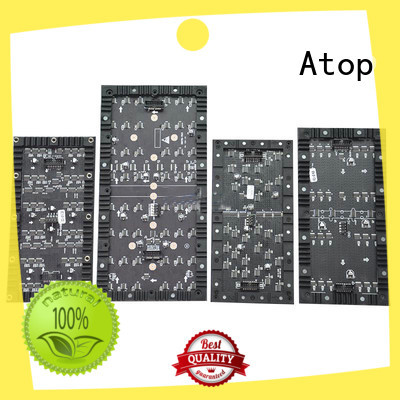 high quality flexible led video screen creative easy to assemble for shaped stage background