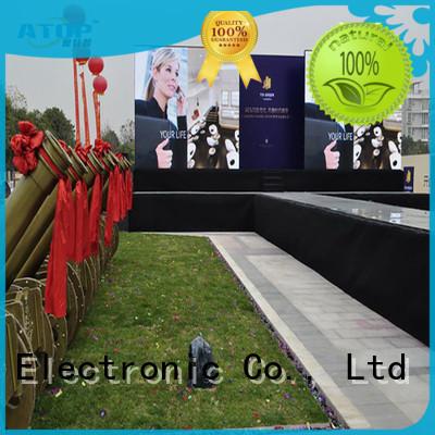 excellent led video screen sale easy assembling for indoor rental led display
