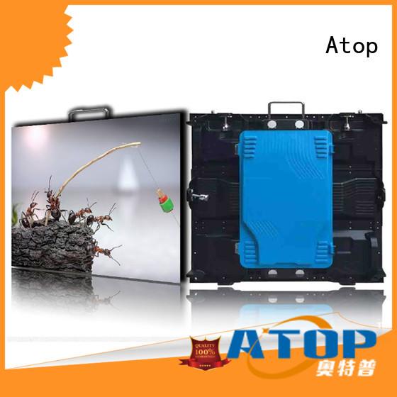 brightness led display panel easy assembling for indoor rental led display
