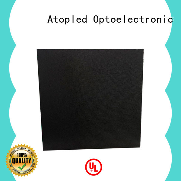 Atop panels led display panel easy assembling for LED screen