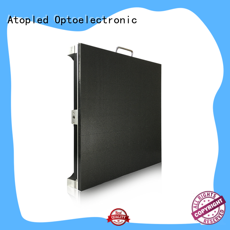 Atop hd led stage screen rental in strict accordance with relevant national standards for LED screen