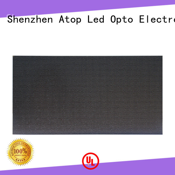 Atop high quality indoor led module with relaible quality for advertising