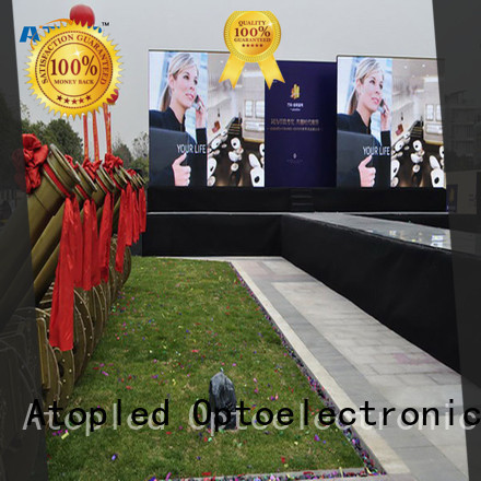 Atop billboard led video screen in strict accordance with relevant national standards
