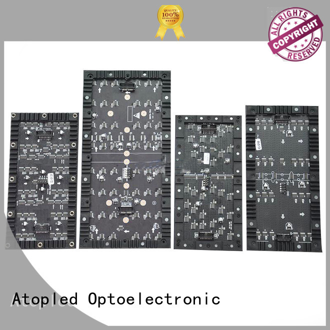Atop curtain led pixel panel for shaped stage background