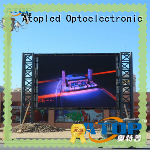 Atop high-strength stadium led display screen with reliable quality in market