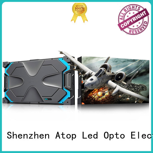 Atop billboard led video panel with high-quality for your led display applications