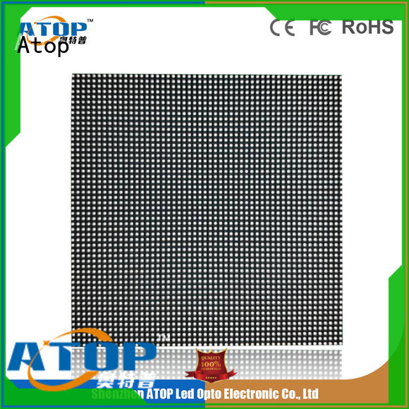 custom led panel video with reliable quality in market Atop
