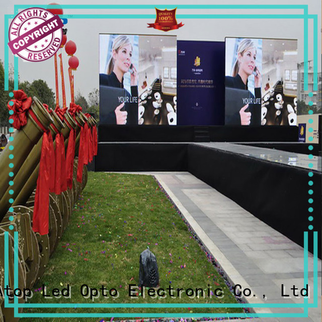 reliability outdoor led display panels universality easy maintenance in market