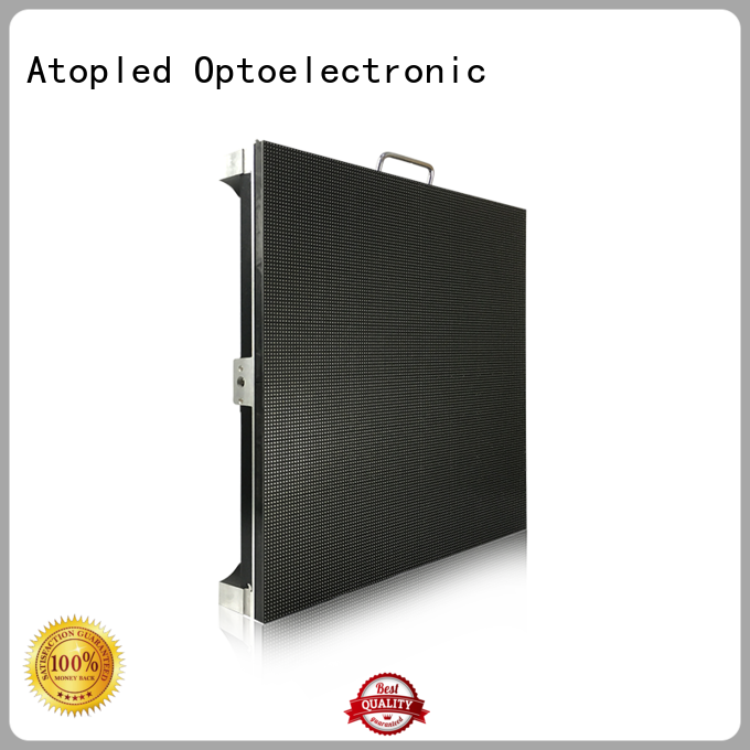 excellent led stage screen rental led easy assembling for LED screen