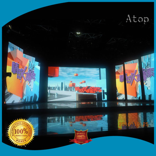 Atop lightweight small led display screen in strict accordance with relevant national standards for LED screen