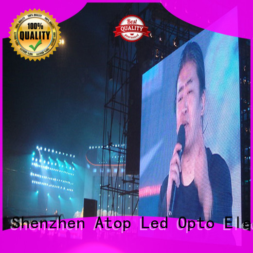 Atop display led display signs with reliable quality in market