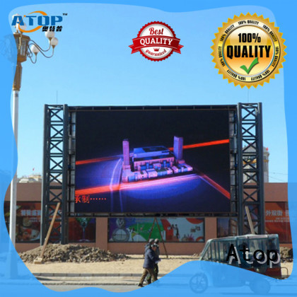 Atop custom led wall price easy maintenance in market