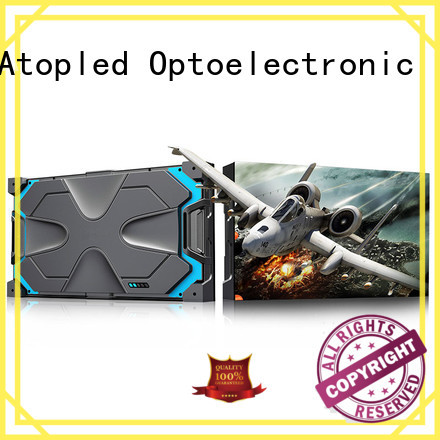 Atop screen led display screen in strict accordance with relevant national standards