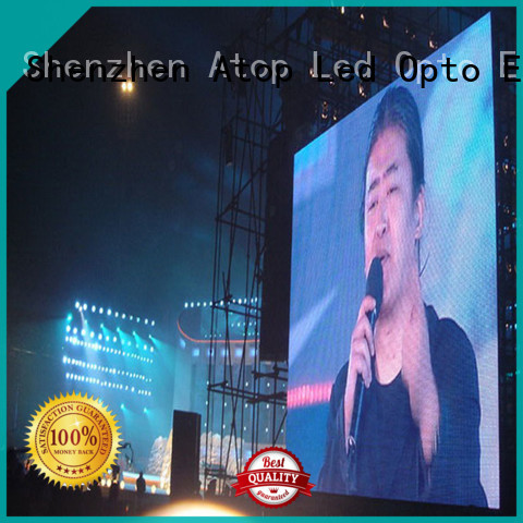 reliability rental led sign color easy maintenance in market