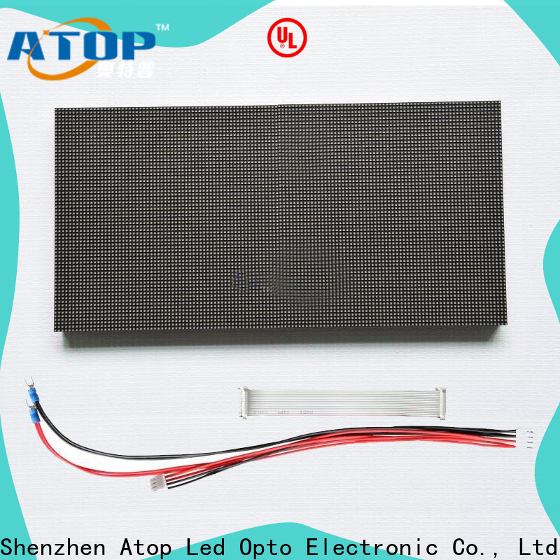 Atop customized indoor led module for advertising