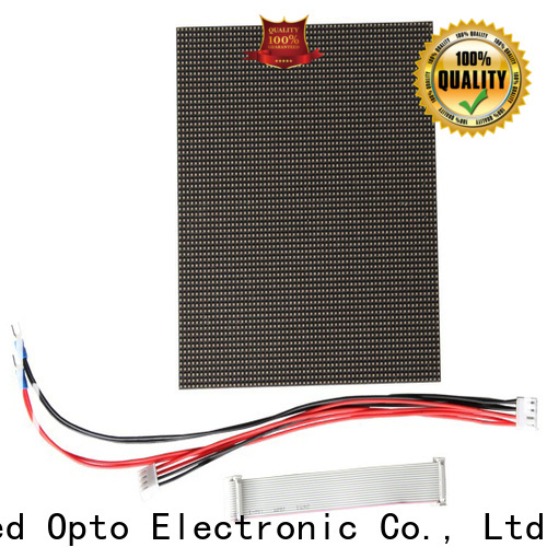 Atop panel outdoor led module for advertising