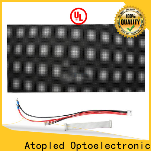 Atop high quality led module price to meet different need for indoor rental led display