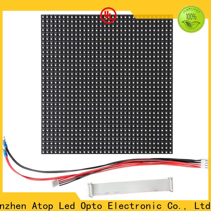 online led module lights display in market