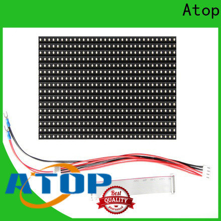 Atop customized outdoor led module easy operation for advertising