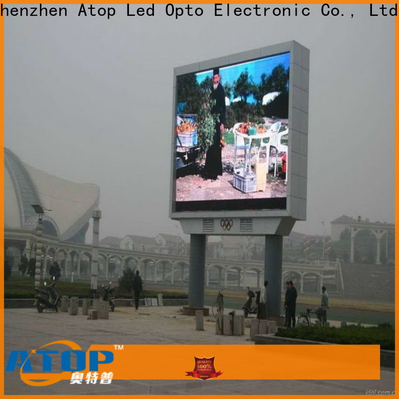 Atop customized p5 led screen with relaible quality in market、