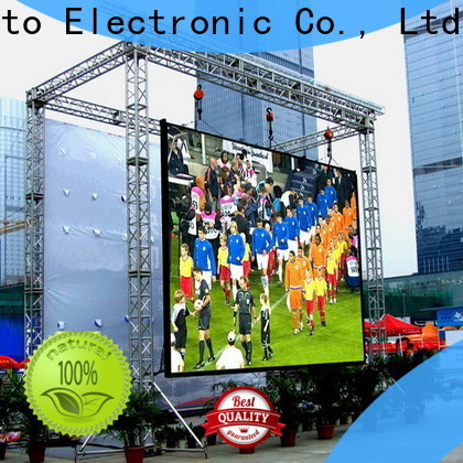Atop waterproof outdoor led display screen price on sale for advertising