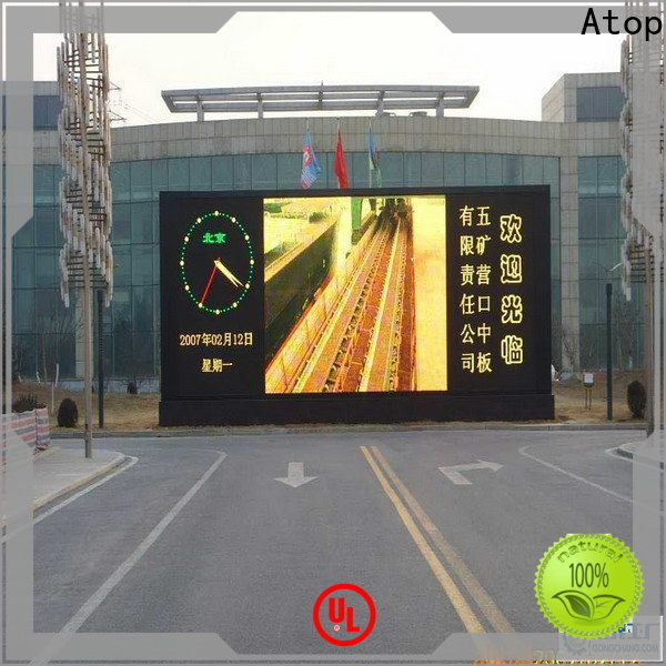 affordable p6 led display screen for display