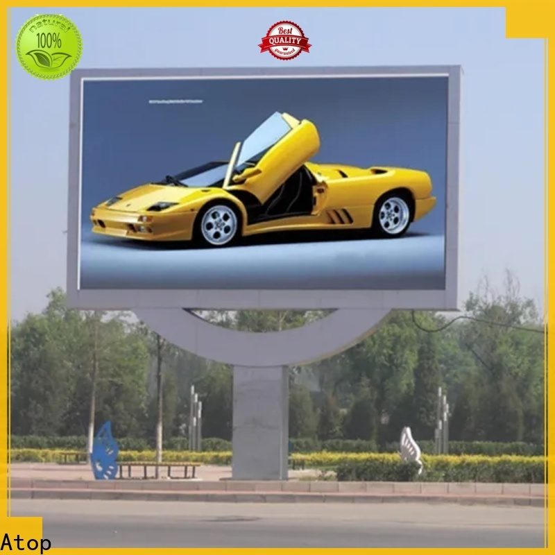 Atop cost-effective led display screen price with the stringent quality standards for both outdoor and indoor