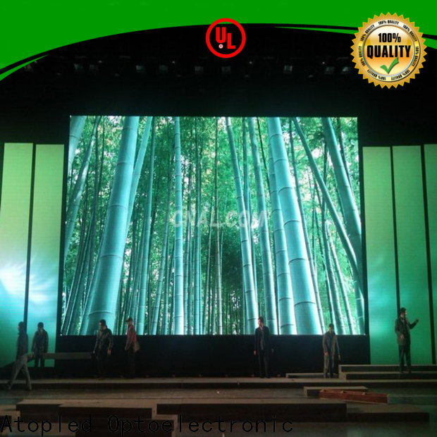 Atop priced-low full hd led screen​ in strict accordance with relevant national standards for LED screen