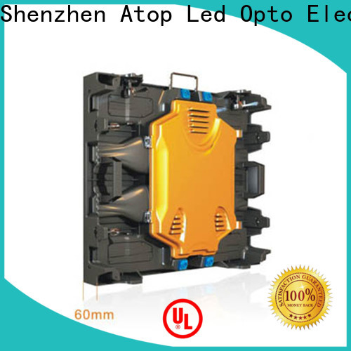 Atop aluminum led advertising board with high precision in market