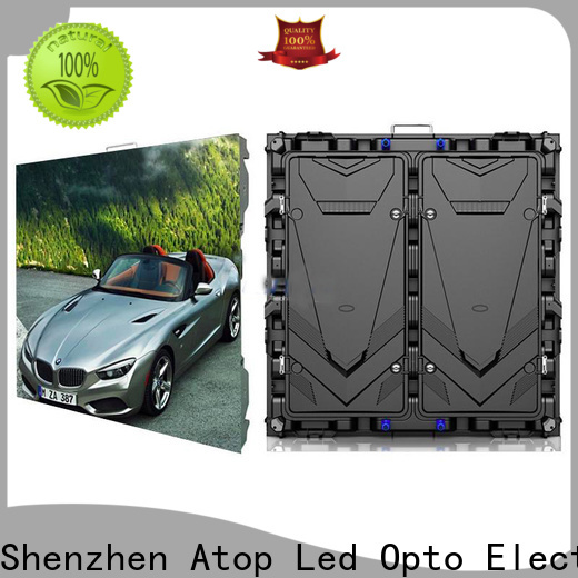 Atop led led display technology with the stringent quality standards for advertising
