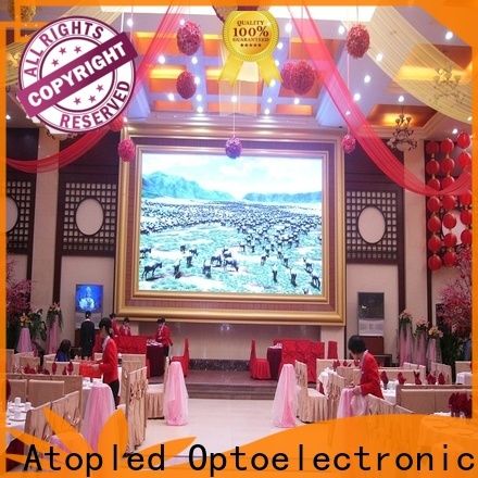 Atop full indoor fixed led display with reliable driving IC for indoor led display
