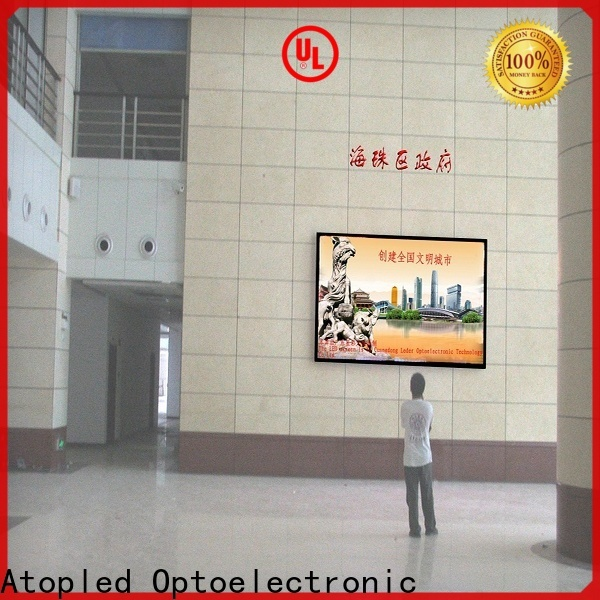 customized indoor led billboard wall with the stringent quality standards in market