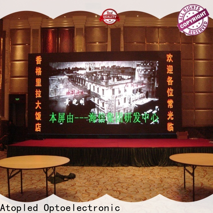 Atop good consistency video panel with reliable driving IC for indoor led display