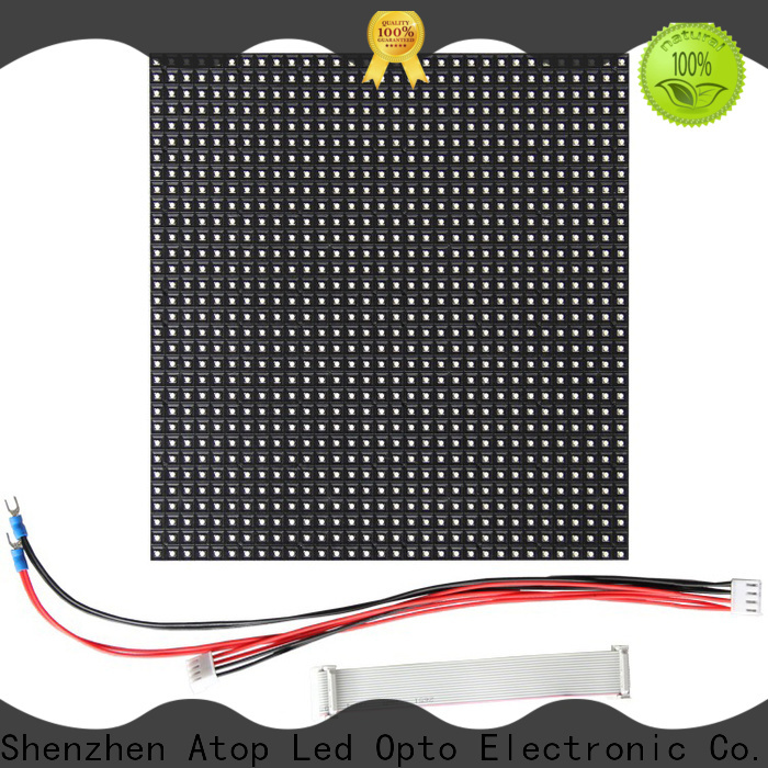 high quality outdoor led module customized for indoor rental led display