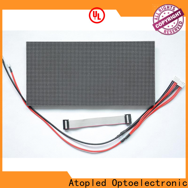 Atop module led display module with relaible quality in market