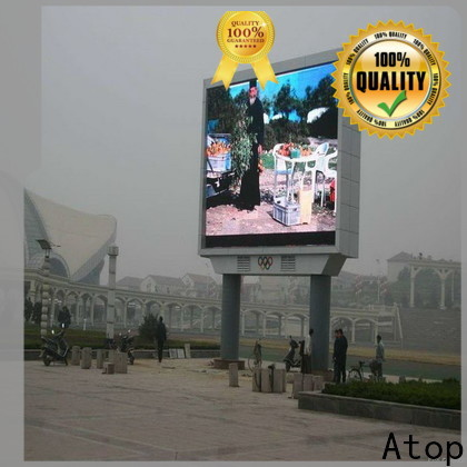 Atop customized outdoor led display screen price on sale for both outdoor and indoor