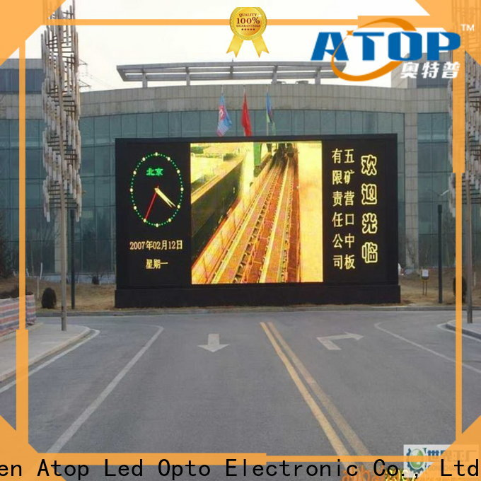 waterproof p3 led wall fixed with relaible quality for display