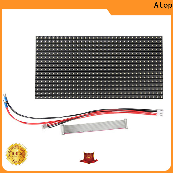Atop high quality 12v led module easy operation for advertising