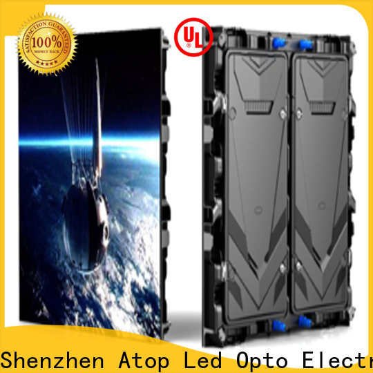Atop reasonable outdoor led display on sale for advertising