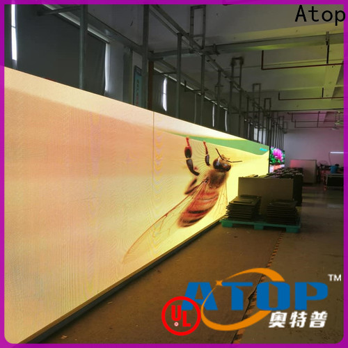 cost-effective outdoor led display signs with best color uniformity for company advertising