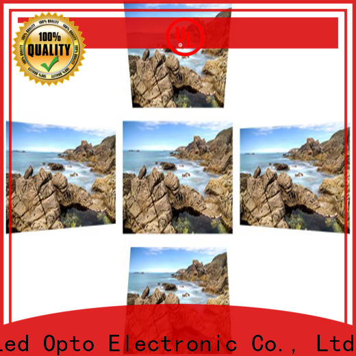 Atop small led display screen with reliable quality for both outdoor and indoor