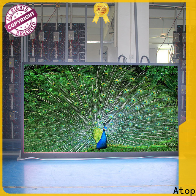 excellent led video screen highprecision with high-quality for indoor rental led display