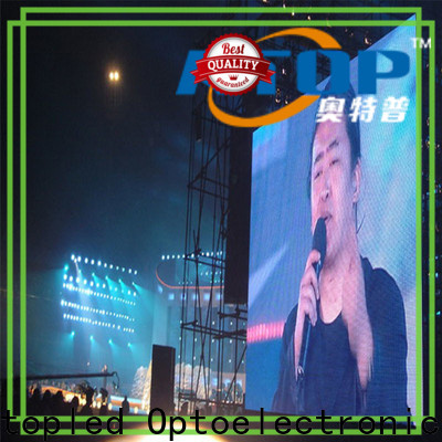 Atop anti-interference outdoor led display screen with reliable quality for both outdoor and indoor